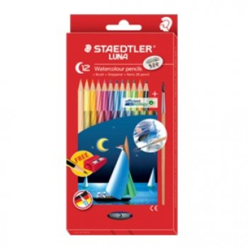 Staedtler Luna 137 12's Watercolour Pencil(Full Length)