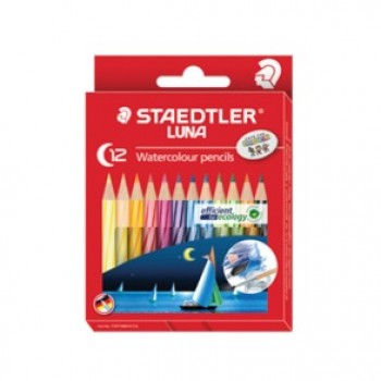Staedtler Luna 137 12's Watercolour Pencil(Half Length)