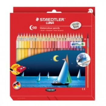 Staedtler Luna 137 48's Watercolour Pencil(Full Length)