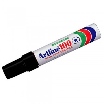 Artline 100 Giant Permanent Marker - EK-100 12mm Black
