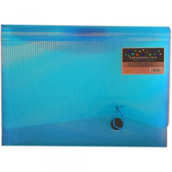 CBE 4313 13P Expanding File (A4) Light Blue (Item No: B10-123 LB)