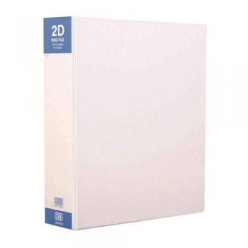 CBE 2D6502 PVC 2-D 50MM Ring Binder File (A4)