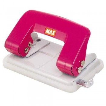 MAX DP-F2BN Paper Puncher - 13 sheets Capacity, B Type - PINK