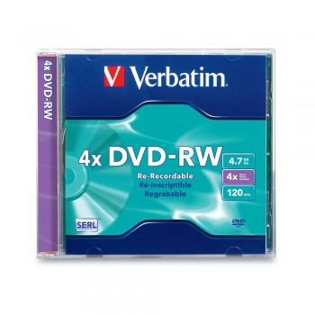 Verbatim DVD-RW 4.7gb 120min Casing (1pc)