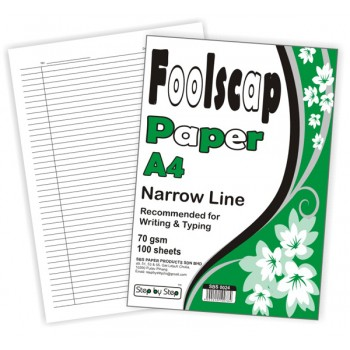 SBS 0024 Narrow Line Paper 100'S