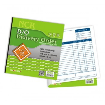 SBS 0282 Delivery Order Book (25 set X 3)