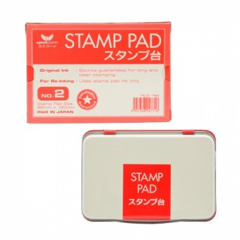 Unicorn No.2 Stamp Pad-Red