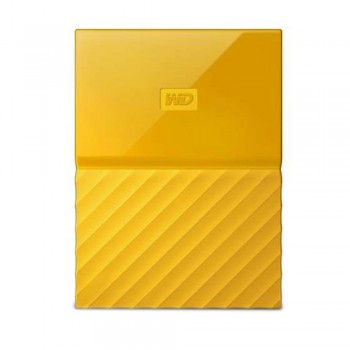 WD Western Digital My Passport USB 3.0 Hard Drive - 1TB Yellow (WDBYNN0010BYL)