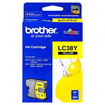 Brother LC-38 Yellow