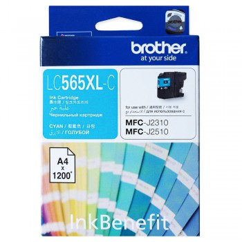 Brother LC-565XL Cyan Ink Cartridge