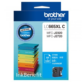 Brother LC-665XL Cyan ink cartridge