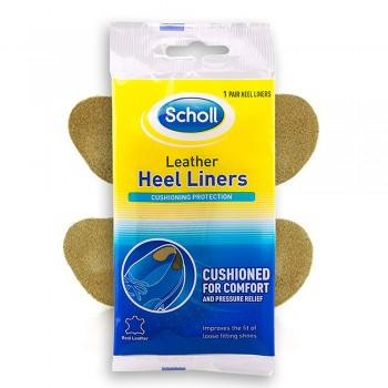 Scholl Leather Heel Liners